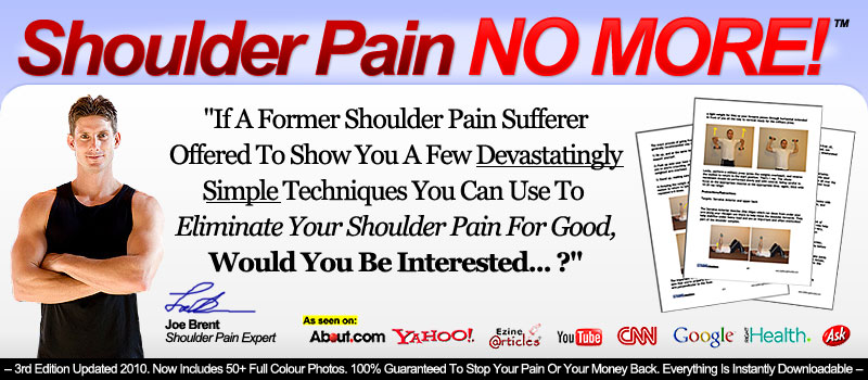 Shoulder Pain No More Scam Review